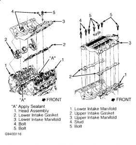Buick Regal 1998 Buick Regal Remove The Upper Intake on 3800 Lower Intake Manifold Torque Sequence