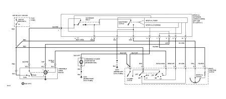 1994 ford ranger wiper motor electrical problem 1994 ford ranger. Black Bedroom Furniture Sets. Home Design Ideas
