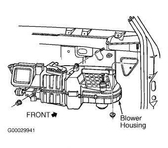 Dodge Durango 2001 Dodge Durango Replacing Heater Core on 2000 ford f 150 fuse diagram