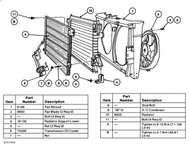 2000 Ford Taurus Radiator Diagram - wiring diagram on the net Abs Wiring Diagram Taurus on