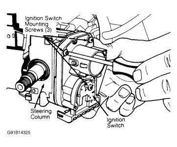 Dodge Caravan 1995 Dodge Caravan Ignition Switch