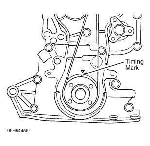 Timing Belt Replacement: Four Cylinder Two Wheel Drive Manual 124,