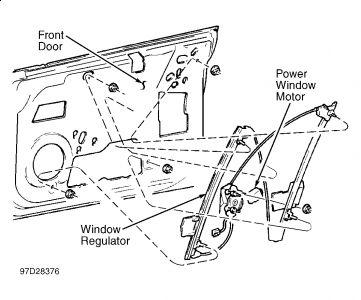 1999 Dodge Neon Window Crank Broke 1999 Dodge Neon 4 Cyl
