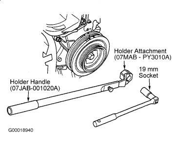 Graphic on Honda Civic How To Replace Timing Belt And Water