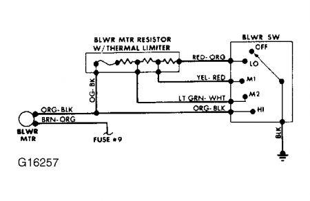 1988 ford ranger '88 ranger intermitent heater fan 1988 bayliner capri wiring diagram for 3 0l omc 1988 f250 ac wiring diagram
