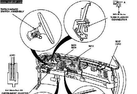 turn signal flasher 93 buick park avenue 137k miles 3800. Black Bedroom Furniture Sets. Home Design Ideas