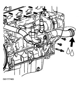 2002 Chevy Cavalier Thermostat Engine Cooling Problem
