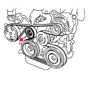 Corolla Belt on Toyota Serpentine Belt Diagram