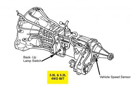 2000 Ford Windstar Transmission Diagram