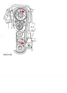 1998 ford escort timing belt: how do i tell if the timing belt ...  2carpros