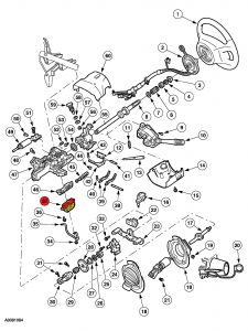 Ford Fusion Hood Latch Diagram