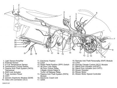1993 Ford Sable Wiring Diagram