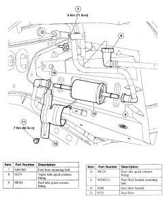 99387_fuel_filter_1 2002 ford thunderbird fuel filter engine performance problem 2002 2002 ford thunderbird fuse box diagram at soozxer.org