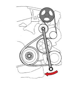 T13134268 Serpentine belt diagram 2010 honda likewise 2008 Honda Civic Sedan Under Hood Fuse Panel And Circuit Protected Table as well 2s9xf Replace Serpentine Belt 2004 Honda Crv additionally Acura Mdx 2001 Acura Mdx Cant Find Oxygen Sensor further 304yi  puter Diagnostic Plug Point Honda Accord 1997. on 2009 honda pilot
