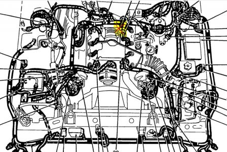 1993 Lincoln Town Car IntakeFuel System Engine Performance – Lincoln Town Car V8 Engine Diagram