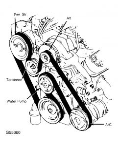 1992 Pontiac Firefly Serpentine Belt Removal as well Remove 2009 Kia Spectra Brake Drum together with RepairGuideContent besides 2006 Scion Xa Antenna Removal further 945306 Ford Mondeo User Manual Download. on 1994 mercury grand marquis owners manual