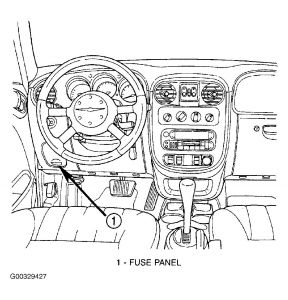 99387_pt1_1 tail lights not working on a 2008 pt cruiser tail lights and 2 PT Cruiser Fuse Box Diagram at crackthecode.co