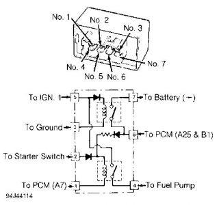 Integra Fuel Pump Diagram - Wiring Diagram