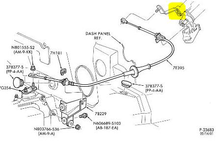Ford Taurus 1994 Ford Taurus Shifting Linkage Diagram