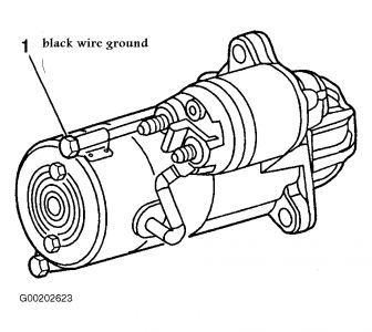 99387_starter_1 1998 chevy cavalier starter wireing there is a set of small wires
