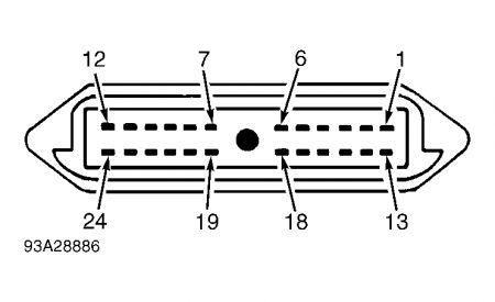 Constant control relay module 1996 escort