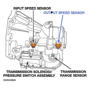 Dodge Neon 2004 Dodge Neon Speed Sensor on Jeep Transmission Parts Diagram