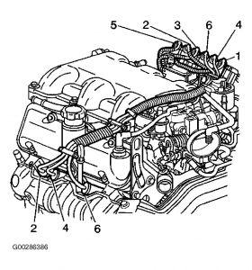 2000 malibu engine diagram enthusiast wiring diagrams u2022 rh rasalibre co 2000 chevrolet malibu engine diagram 2000 Chevy Malibu AC Diagram