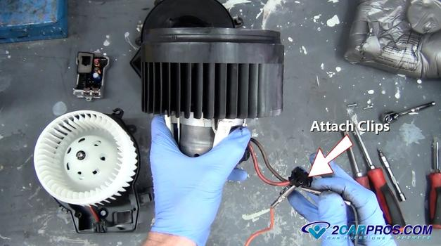 How to replace a blower fan motor in under 30 minutes for Blower motor only works on high speed