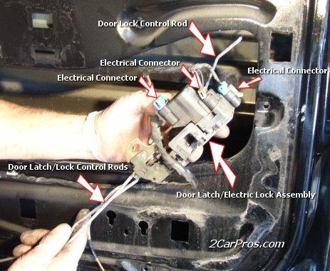 Car Repair World Door Lock Replacement