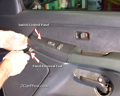 Remove Door Handle Bezel First remove all plastic access panels and
