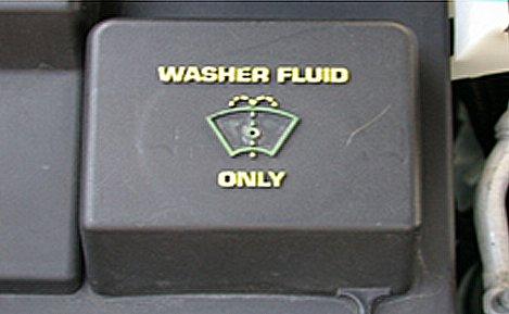 Washer Fluid Reservoir Fill Port