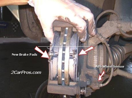 Installing New Brake Pads