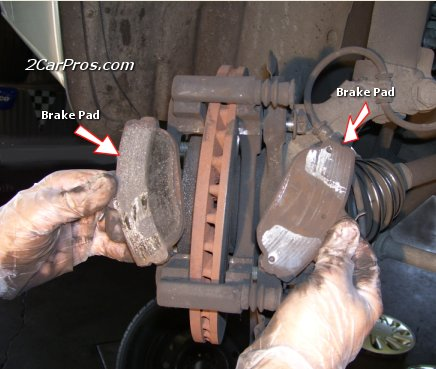 Remove Front Brake Pads