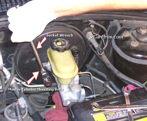 How To Replace A Brake Master Cylinder
