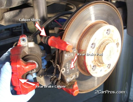 Rear Pad and Rotor Replacement Guide - 2CarPros