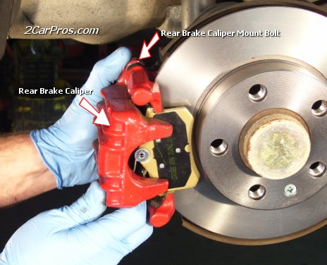 brake pad caliper - photo #2
