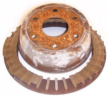 Broken Brake Rotor