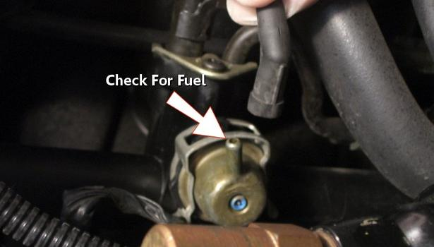 2000 Hyundai Elantra Fuel Pressure Regulator Location