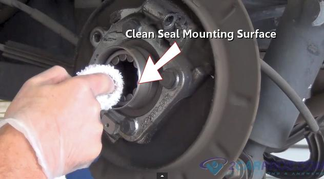 How to Replace a Rear Axle Bearing and Seal in Under 90 ...