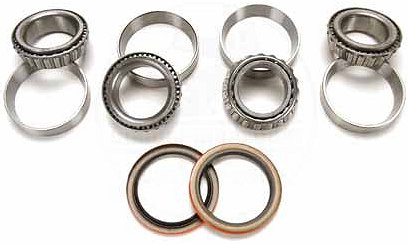 Axle Bearing/Race Set with Seals