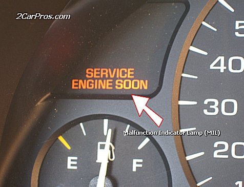 Acura Honda on The Mil Has Illuminated During Driving This Means There Is A