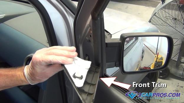 car door panel trim removal