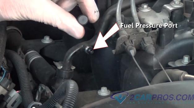 2002 ford focus fuel pressure test port  2002  free engine