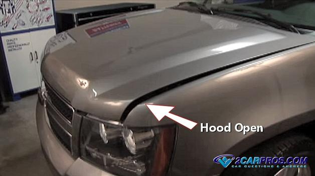 car hood will not open