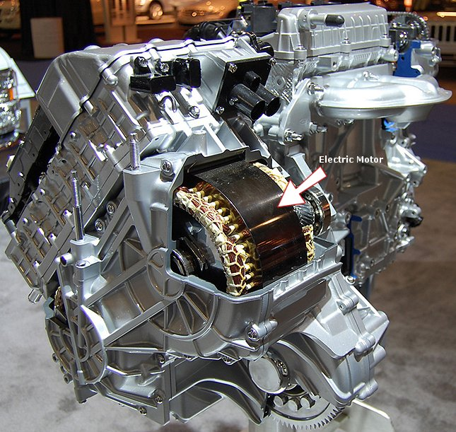 Ever Wonder How A Hybrid Engine Works