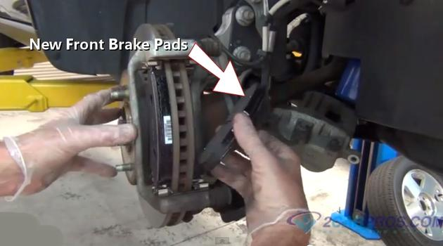 Brake Pad And Rotor Replacement >> Car Repair World: How To Replace Front Brake Pads And Rotors FWD