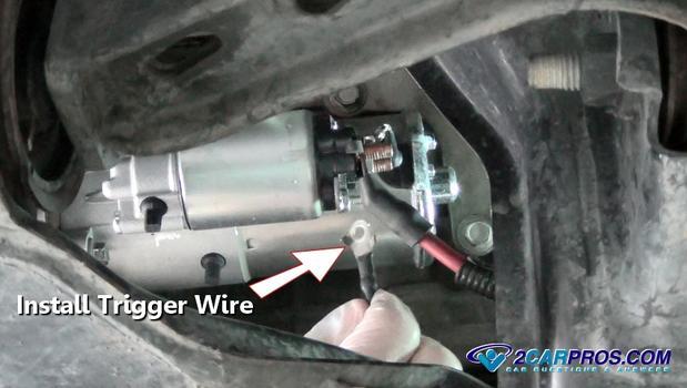 Installing Starter Trigger Wire on 1992 Ford Explorer Engine Diagram