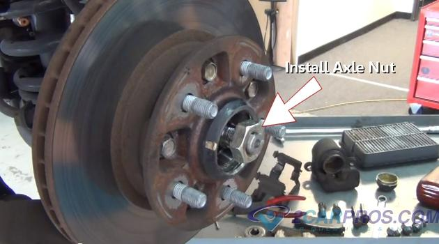 Front Wheel Bearing Replacement >> How to Replace Front Wheel Bearings and Seals in Under 1 Hour