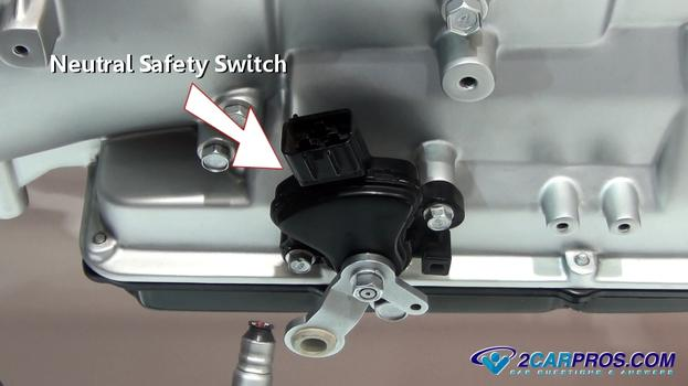 Neutral Safety Switch on 2002 Dodge Ram 1500 Transmission Diagram