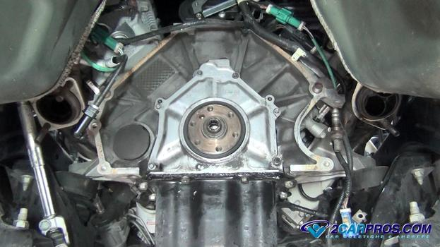 New Rear Main Seal Complete on 2000 Chevy Cobalt Engine Diagram